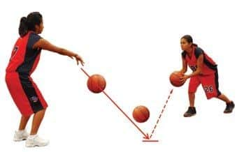 How To Do A Bounce Pass In Basketball