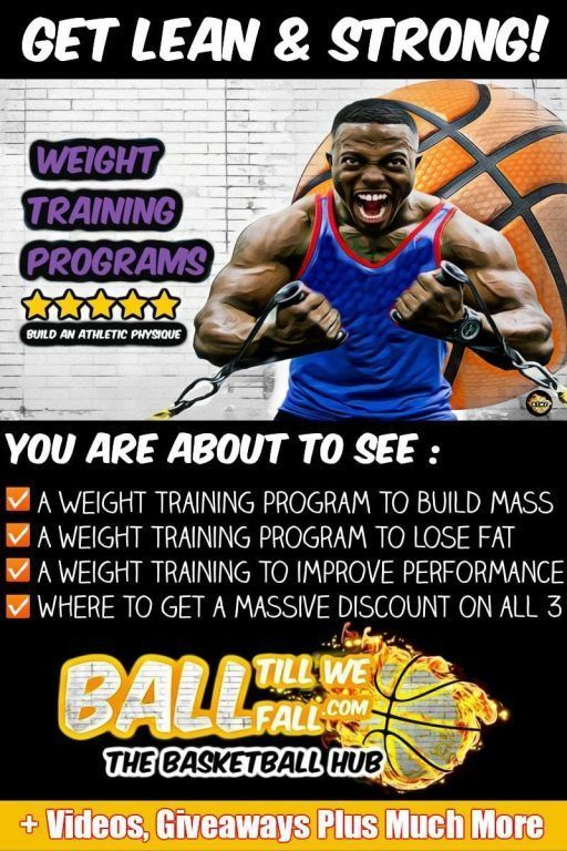 Weight Room Workouts For Basketball Players