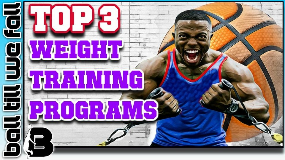 weight training programs for basketball