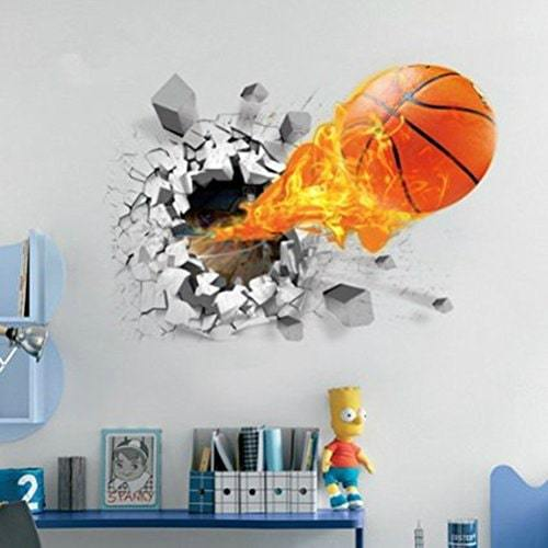 Basketball Room Decor A Great Gift For Teenagers